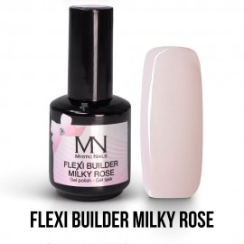 Gel lak - Flexi Builder Milky Rose 12ml