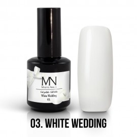 Gel lak - 03. White Wedding 12ml