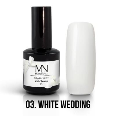 gel lak - 03. White Wedding 12 ml
