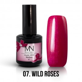 Gel lak - 07. Wild Roses 12ml