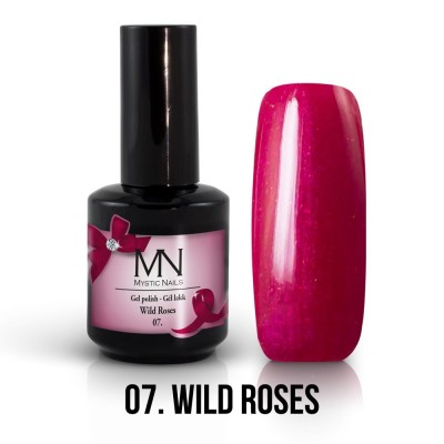 gel lak - 07. Wild Roses 12 ml