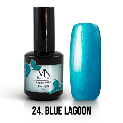 Gel lak - 24. Blue Lagoon 12 ml