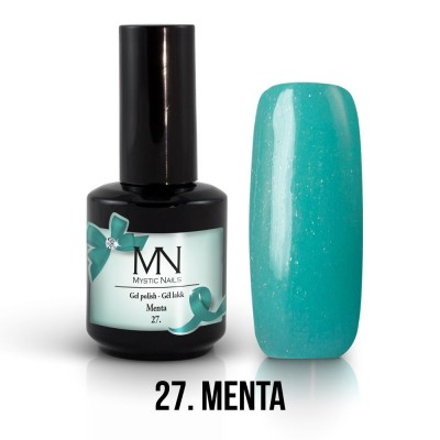 Gel lak - 27. Menta 12 ml