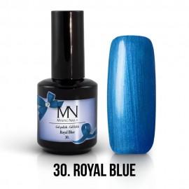 Gel lak - 30. Royal Blue 12 ml