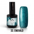 Gel lak - 33. Emerald 12 ml