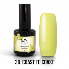 Gel lak - 36. Coast To Coast 12ml
