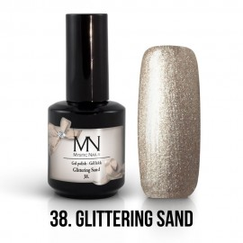 Gel lak - 38. Glittering Sand 12ml
