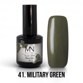 Gel lak - 41. Military Green 12ml