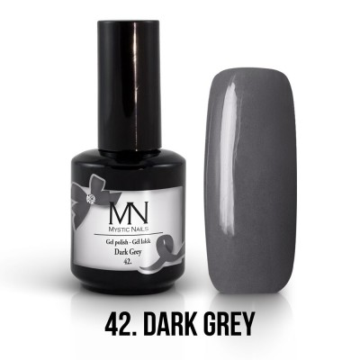 Gel lak - 42. Dark Grey 12 ml