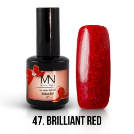 Gel lak - 47. Brilliant Red 12ml