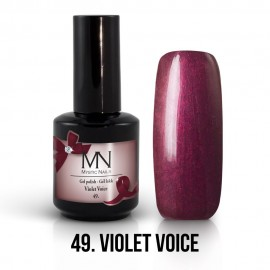 Gel lak - 49. Violet Voice 12ml