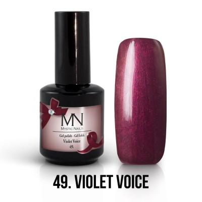 Gel lak - 49. Violet Voice 12 ml