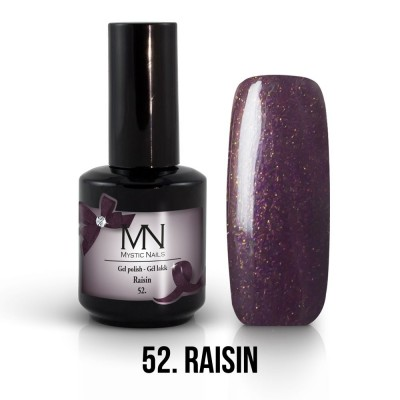 Gel lak - 52. Raisin 12 ml