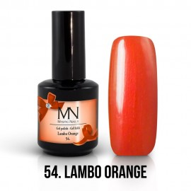 Gel lak - 54. Lambo Orange 12ml