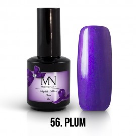 Gel lak - 56. Plum 12ml