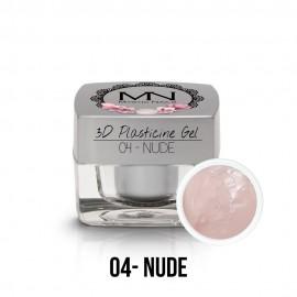 3D Plasticine Gel - 04. Nude  3,5g