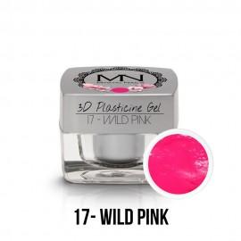 3D Plasticine Gel - 17. Wild Pink 3,5g