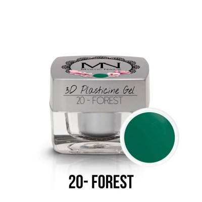 3D Plasticine Gel - 20. Forest  3,5g