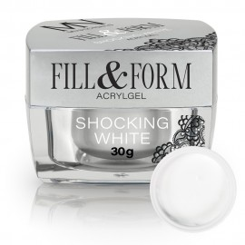 Fill&Form Gel - Shocking White - 30g