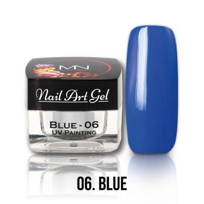 UV Painting Nail Art Gel - 06 - Blue  4g