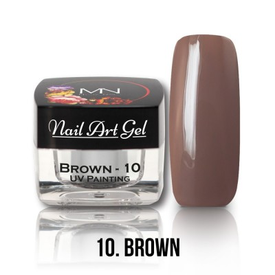 UV Painting Nail Art Gel - 10 - Brown  4g