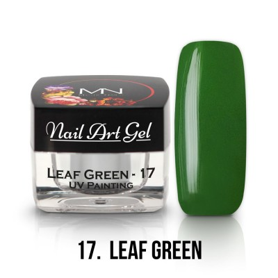 UV Painting Nail Art Gel - 17 - Leaf Green  4g
