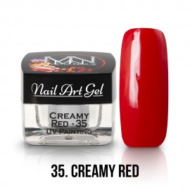 UV Painting Nail Art Gel - 35 - Creamy Red 4g