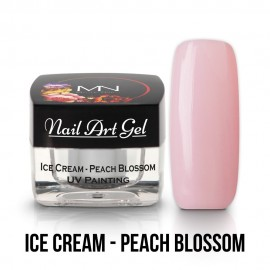 UV Painting Nail Art Gel - Ice Cream - Peach Blossom  4g