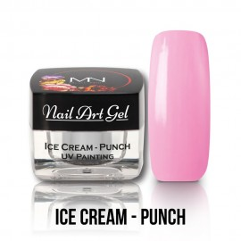 UV Painting Nail Art Gel - Ice Cream - Punch  4g
