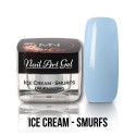 UV Painting Nail Art Gel - Ice Cream - Smurfs  4g