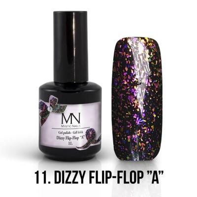 "Gel lak - 11. Dizzy Flip-Flop ""A""  12ml"