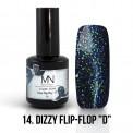 """Gel lak - 14. Dizzy Flip-Flop """"D""""  12ml"""
