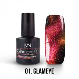GlamEye gel lak 01 - 6ml