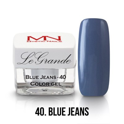 LeGrande gel - 40. Blue Jeans 4g