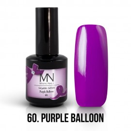 Gel lak - 60. Purple Balloon 12ml