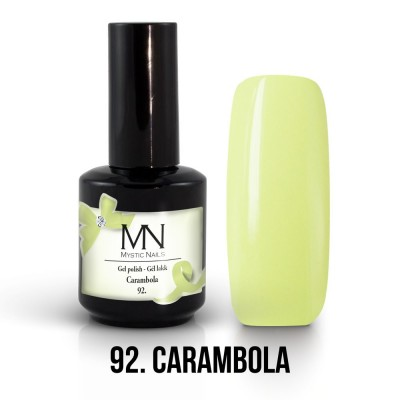 Gel lak - 92. Carambola 12ml