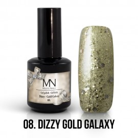 Gel lak - 10. Dizzy Gold Galaxy 12ml
