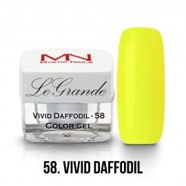 LeGrande gel - 58. Vivid Daffodil 4g