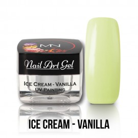 UV Painting Nail Art Gel - Ice Cream - Vanilla  4g