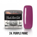 UV Painting Nail Art Gel - 24 - Purple Panic 4g