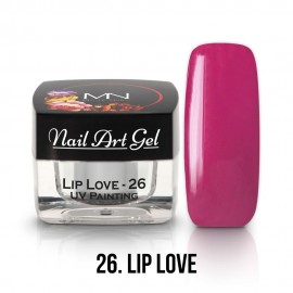 UV Painting Nail Art Gel - 26 - Lip Love 4g