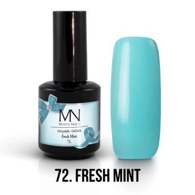 Gel lak - 72. Fresch Mint 12ml