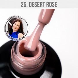 Gel lak - 26. Desert Rose 12 ml