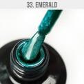 Gel lak - 33. Emerald 12 ml